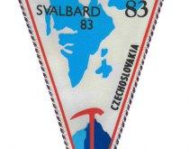 Horolezecká expedícia Špicbergy 1983 - vlajka