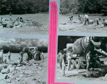 Rokodrom - zahájenie výstavby lezeckej cvičnej skaly vroku 1983