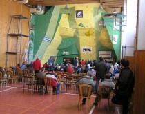 Lezecká stena v Košiciach - slovenský pohár v lezení 2006