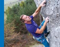 Obálka pre lezeckého sprievodcu po Dreveníku