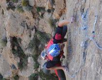 Oujdad - Richard Nyéki lezie prvú dĺžku prvovýstupu