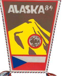 Horolezecká expedícia Alaska 1984 - vlajka