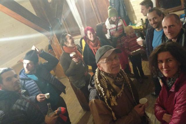 Posledné zlanenie 2018 – Zádielska chata