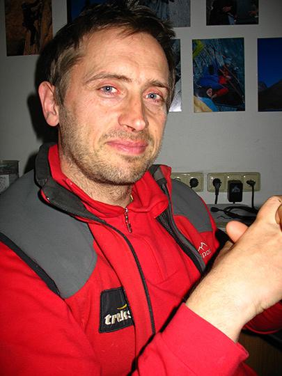 Vlado Linek - lezecký sprievodca Dreveník